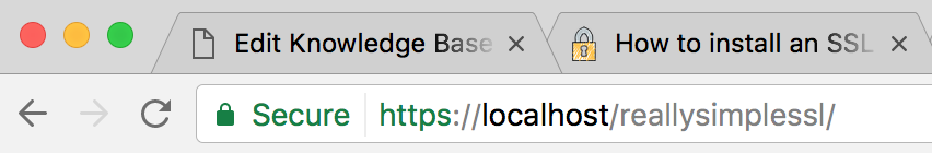 How to install an SSL certificate on localhost / MAMP - Really